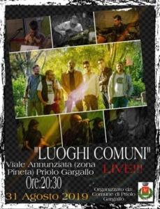 Estate Priolese -Luoghi Comuni Live !!!-