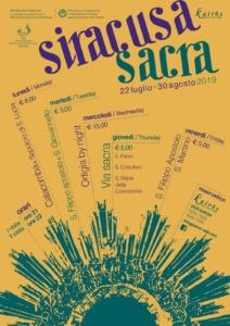 Siracusa Sacra Dal 22 luglio al 30 agosto