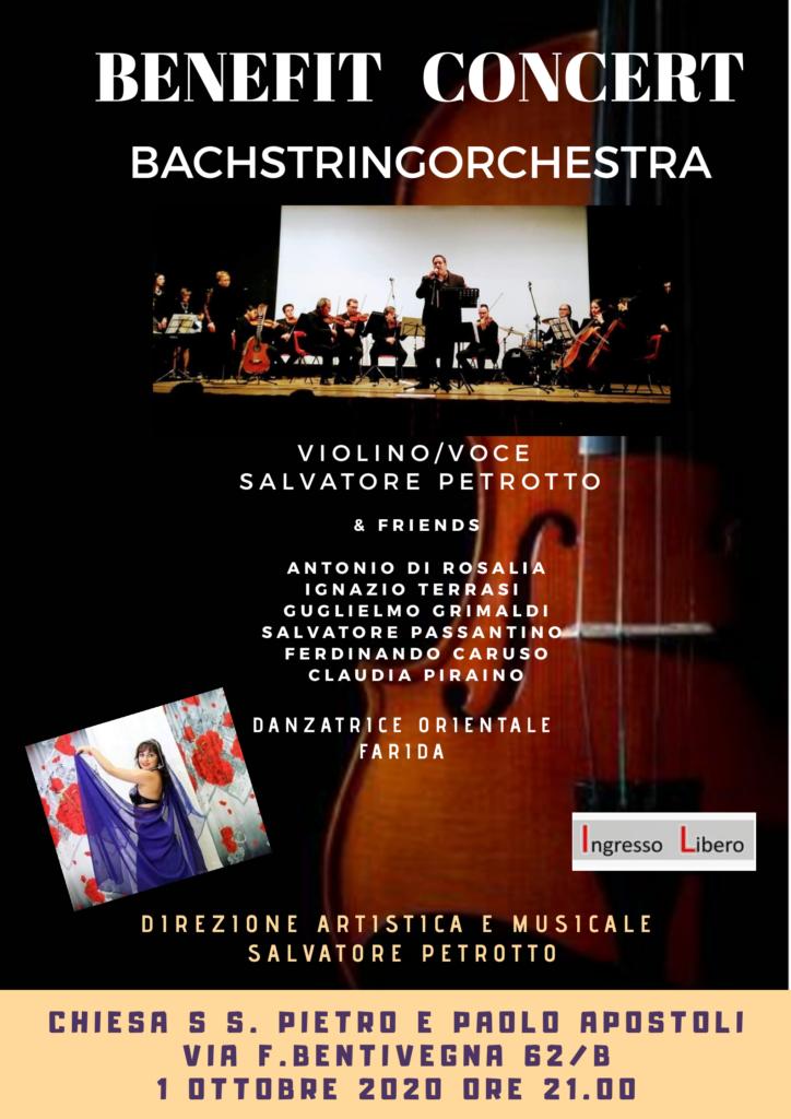 Chiesa SS. Pietro e Paolo Apostoli  a Palermo: Petrotto in concerto di Benificenza