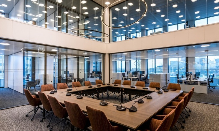 La sala riunioni dell'Ema ad Amsterdam