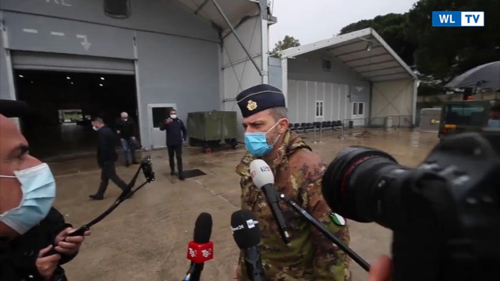 L'aeroporto di Pratica di Mare scelto per lo stoccaggio dei vaccini anti-Covid – Video
