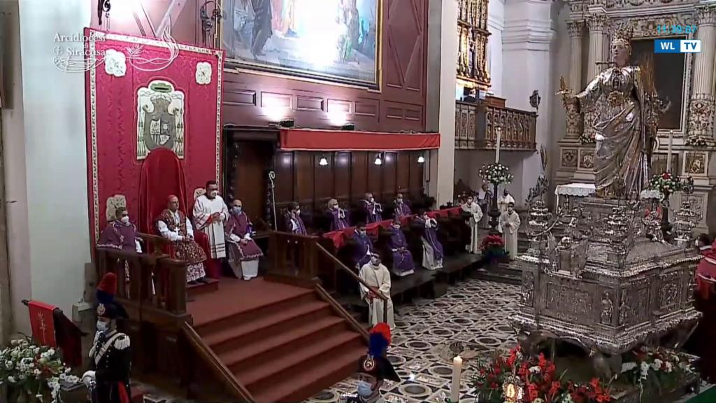 Santa Lucia – Pontificale del 13 dicembre 2020