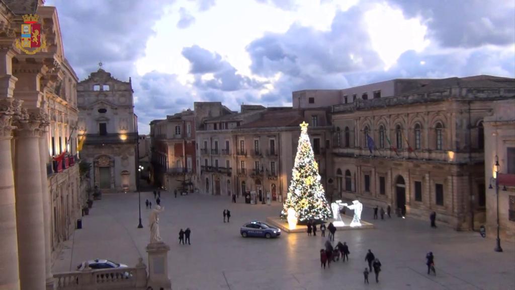 Questura Siracusa auguri di Natale – Video