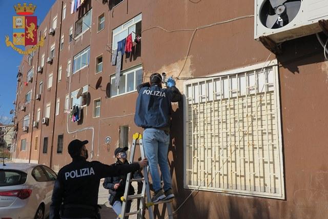 Siracusa – Operazione antidroga: rimosso videosorveglianza posto a presidio dello spaccio