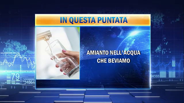 Amianto: cocktail di fibre nell'acqua potabile