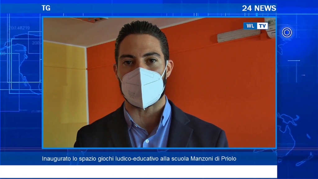 Inaugurato lo spazio giochi ludico-educativo alla scuola Manzoni di Priolo