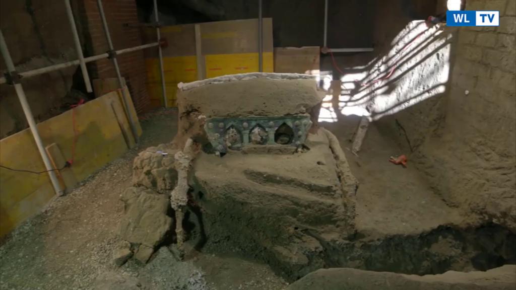 Pompei, ritrovato un carro nuziale, artefatto incredibile e unico nel suo genere -Video