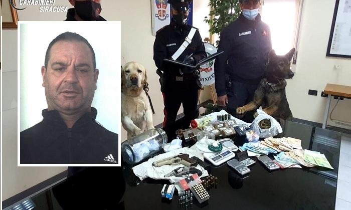 Siracusa. Sequestrate armi, droga e denaro – zona Santa Panagia