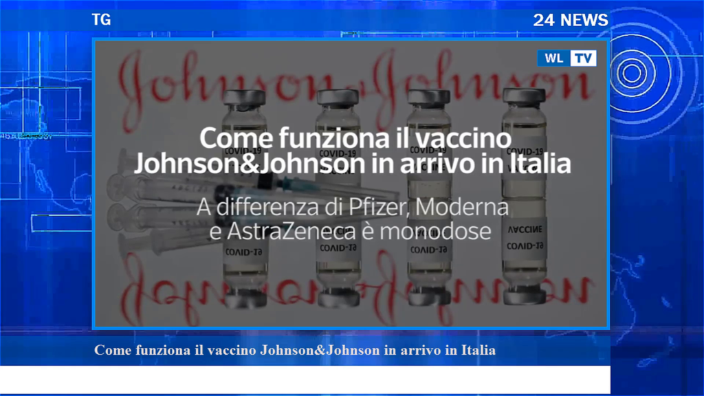Come funziona il vaccino Johnson&Johnson in arrivo in Italia – Video