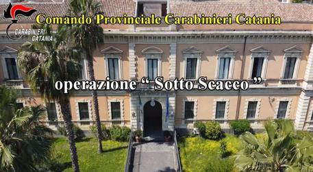Mafia: blitz carabinieri Catania, ordinanza per 40 indagati