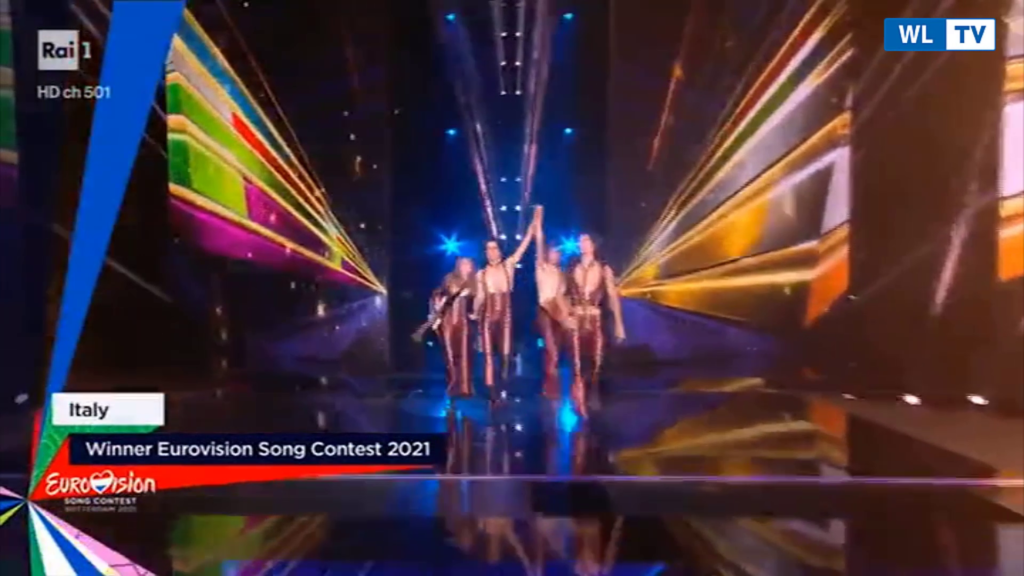 """Il trionfo dei Maneskin all'Eurovision 2021, Damiano: """"Rock 'n Roll never dies!"""" – Video"""
