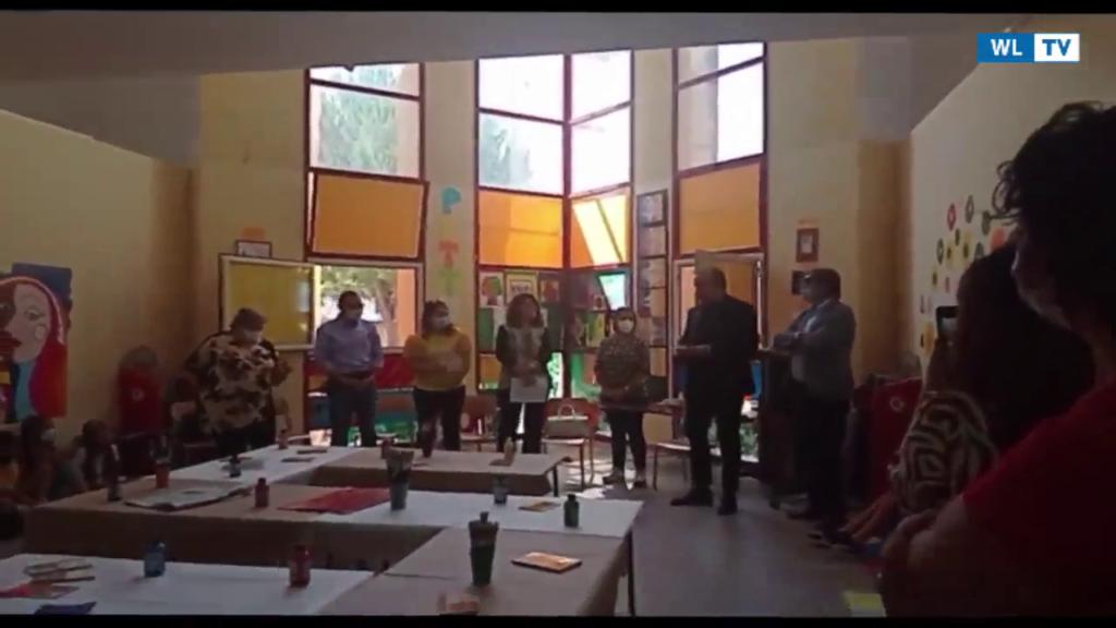 Siracusa – Inaugurazione dell'aula della creatività e della cultura al X Giaracà