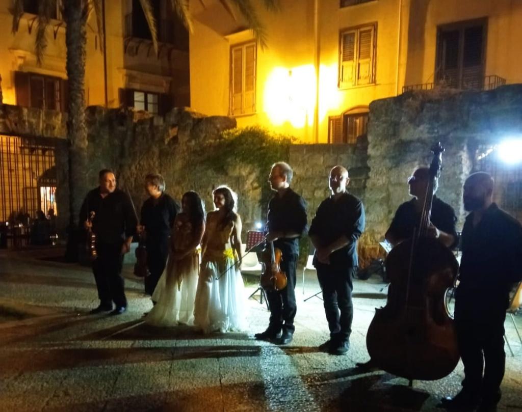 Successo al Giardino dei Giusti con il BachStringEnsemble dell'Orchestra Sinfonica Siciliana