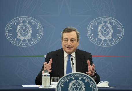 La diretta della conferenza stampa di Draghi