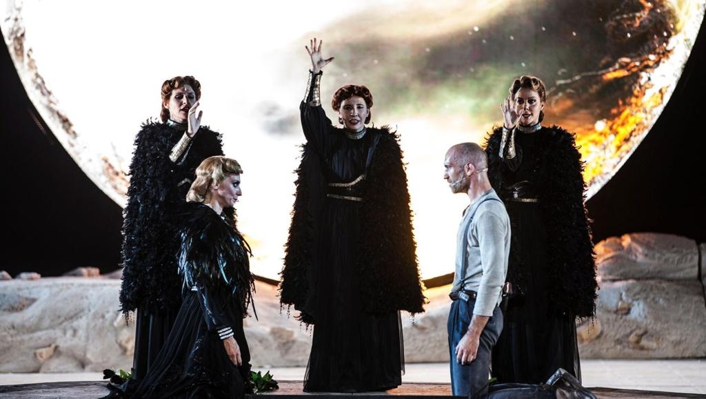 Teatro Greco di Siracusa –  Coefore Eumenidi di Eschilo