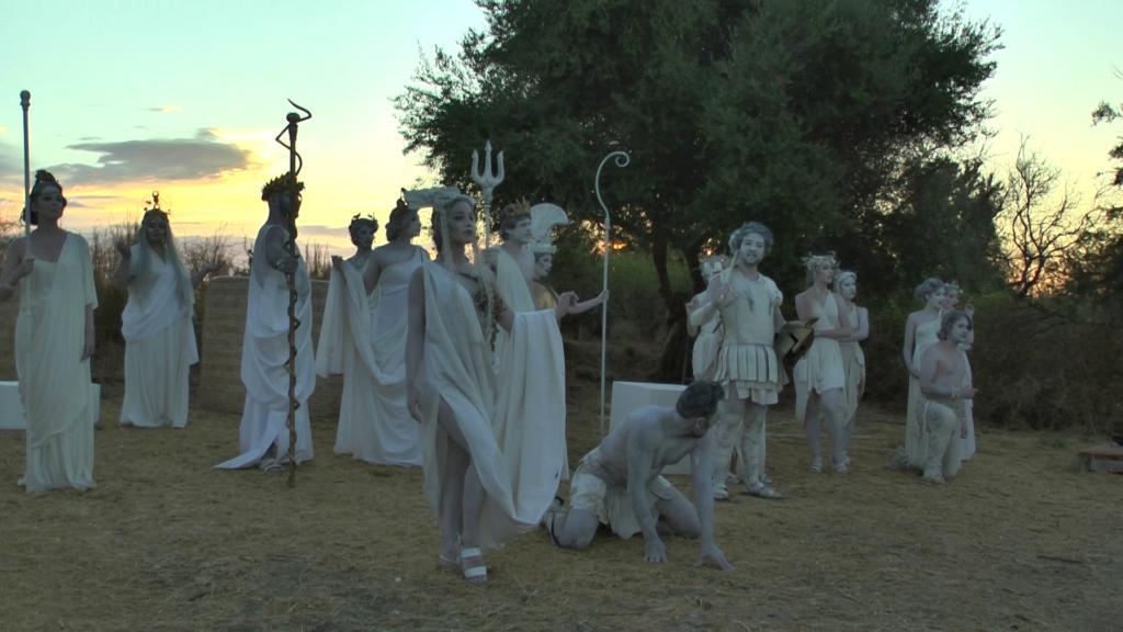 A saline di Priolo gli dei dell'Olimpo si son svegliati all'alba