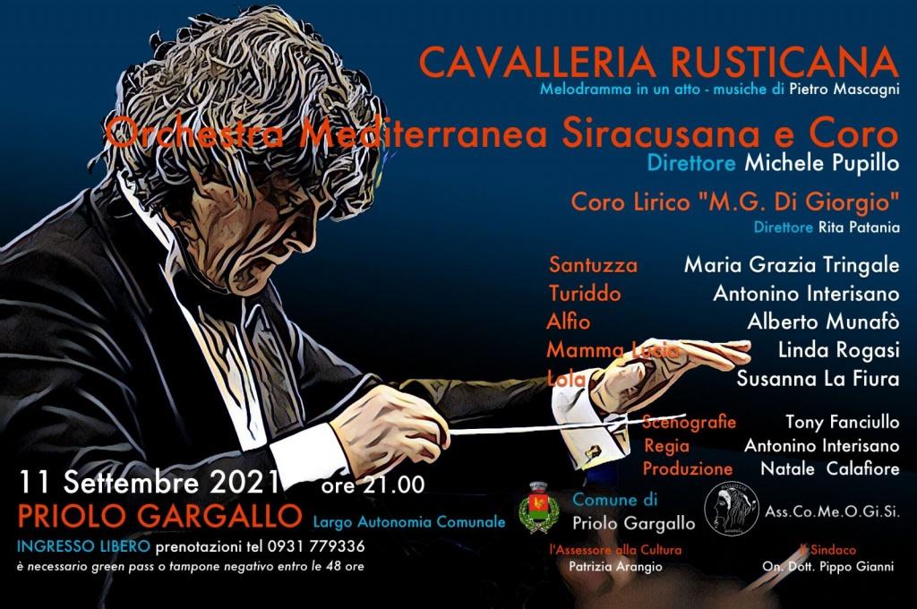 Estate priolese – Cavalleria Rusticana – Associazione Concertistica Mediterranea