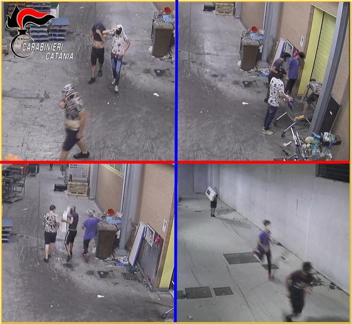 Baby gang: decine di raid a Paternò, quattro arresti dei Cc