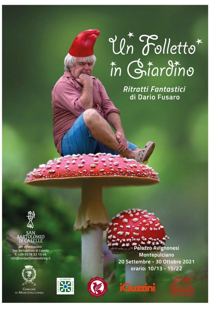Un folletto nel giardino – Ritratti Fantastici di Dario Fusaro