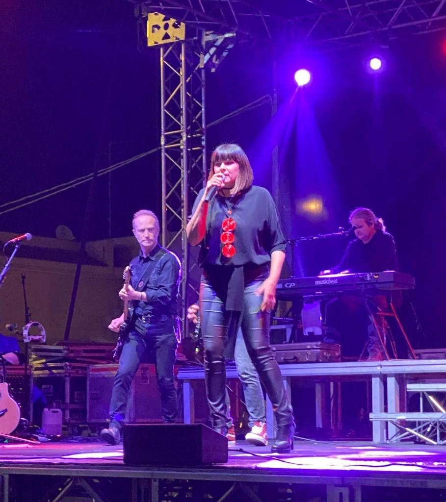 Silvia Mezzanotte in concerto a Priolo Gargallo